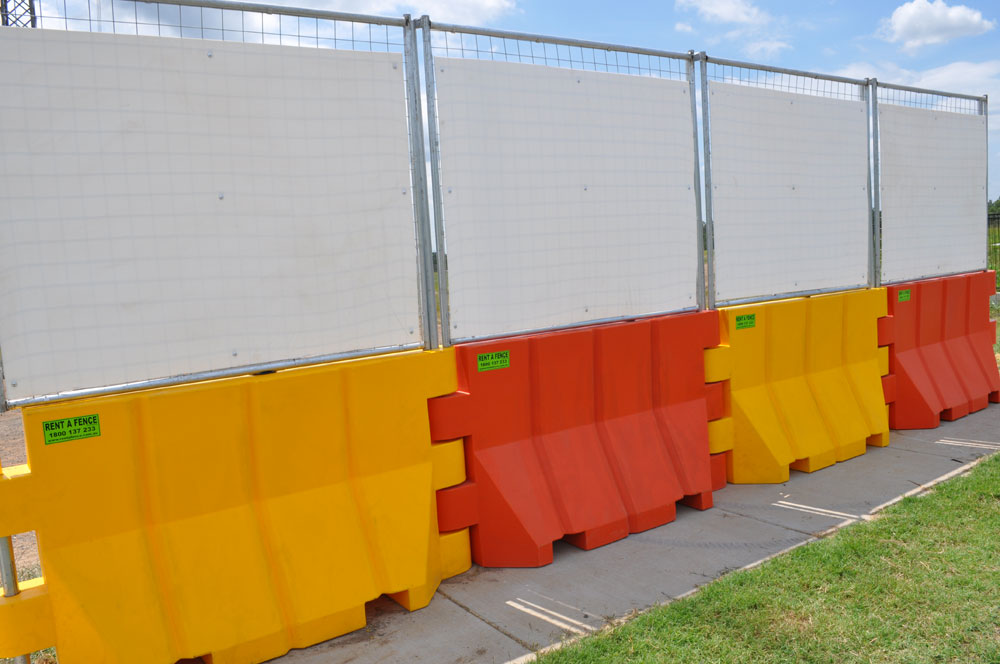 water barrier, temporary water barrier